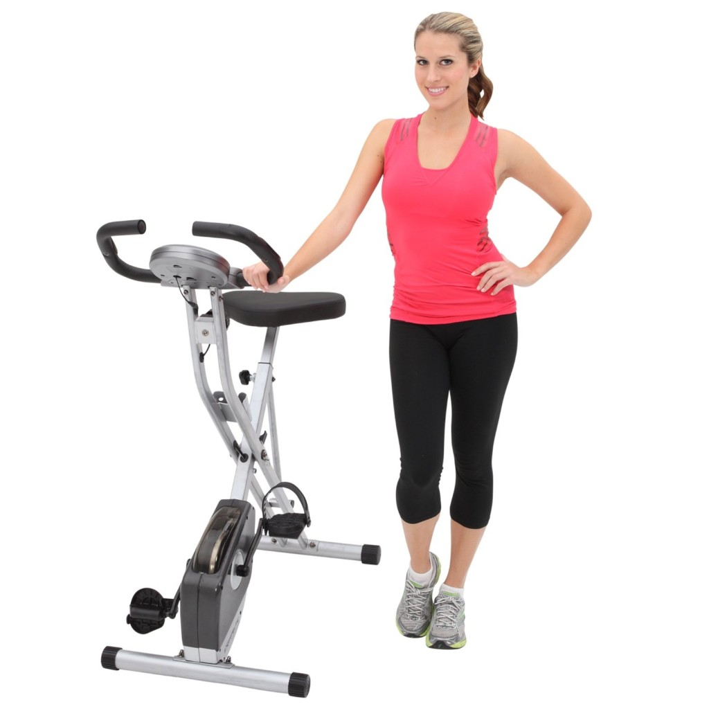 Exerpeutic-Folding-Magnetic-Upright-Bike