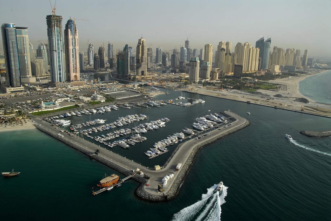 Skyline-Dubai-Marina