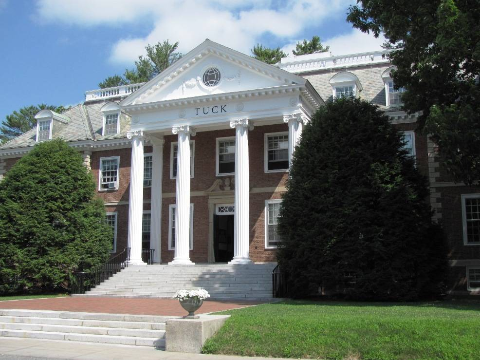 dartmouth business school application essays