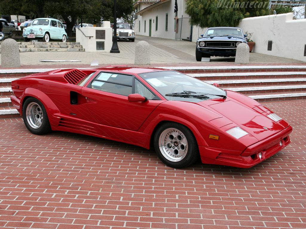 The Countach Lamborghini (1)