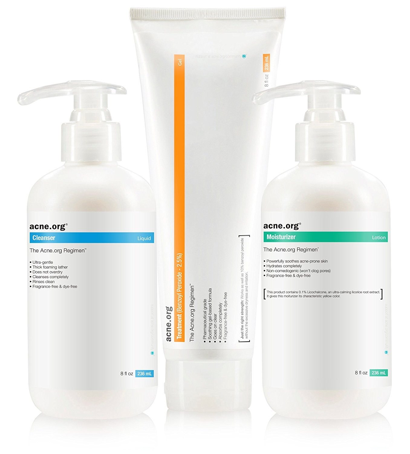 treatment acne regimen kit cleanser moisturizer amazon skin loestrin lo fe acid complete glycolic works aha actually peroxide instructions remedies