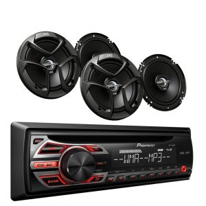 9-Pioneer DEH 150MP Stereo Player Speaker Car Speaker