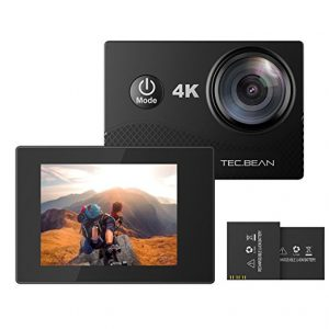 TEC.BEAN Sports Action Camera 4K 16MP
