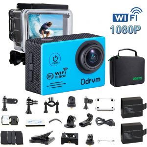 ODVRM Underwater Action Camera