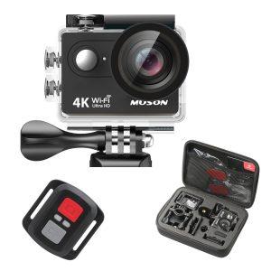 Muson Wi-Fi 4K Action Camera